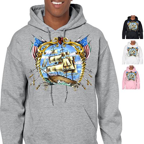 Pirate Boat Sweatshirt