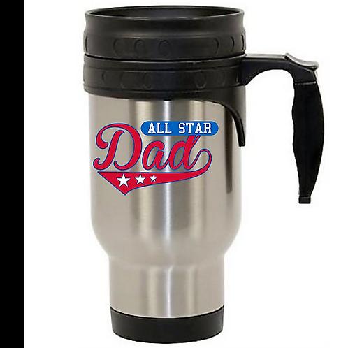 12oz Stainless Steel Travel Mug