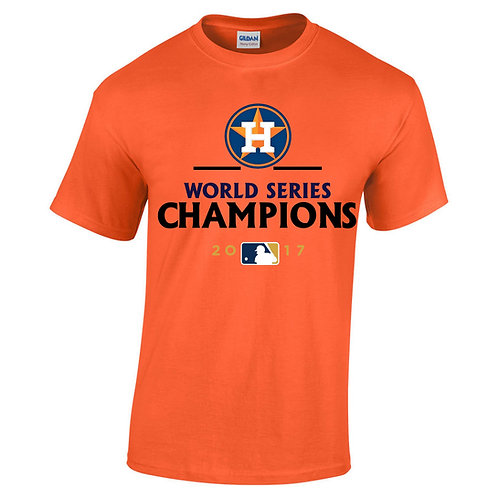 Houston Astros- World Series Champs- Adult Sizes