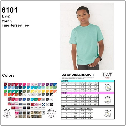 Personalize -LAT Apparel 6101 / Youth T