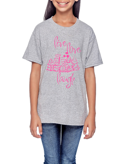 Tultex 265- Cottage T Shirt- Design Your Own-Grey