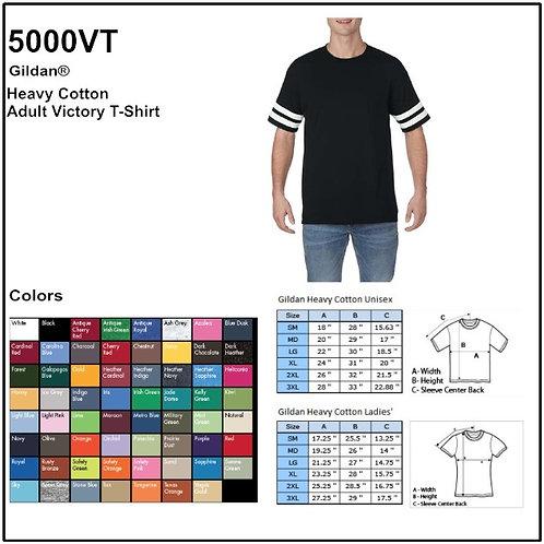 Personalize -Gildan 5000VT - Adult Victory T-Shirt