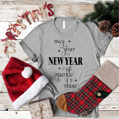 May Your New Year Tee - Vintage Bella+Canvas BC3413