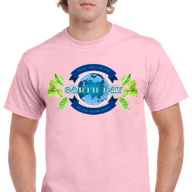 Earth Day- Unisex Tee- Pink