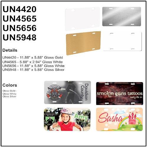Personalize - Aluminum License Plates