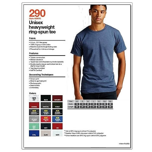 Tultex 290 - Unisex Heavyweight T-Shirt