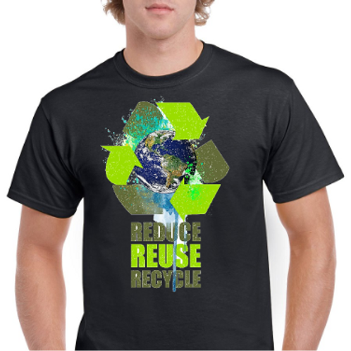 Reduce, Reuse, Recycle- Earth Day TShirt
