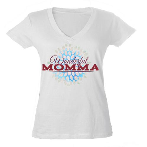 Mother's Day Tee- Slimfit V-Neck