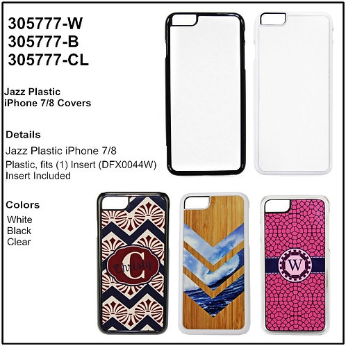 Personalize - iPhone 7/8 Plastic Phone Case Covers