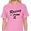 Tultex 213 - Ladies' Fine Jersey T-Shirt- Pink City TShirt- Racing for a Cure