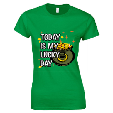 St Patrick's Day Ladies Tee