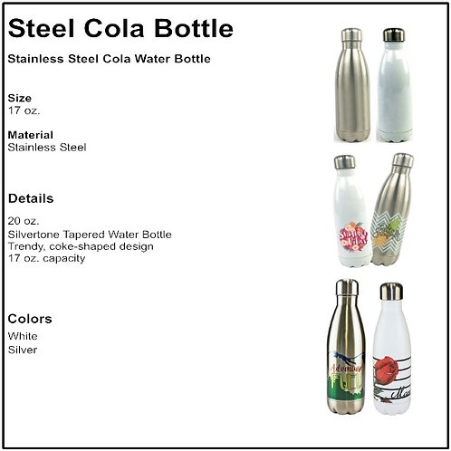 Personalize - Soda Style Cola Water Bottles