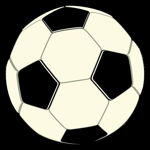 Soccer Shaped Mousepad