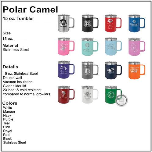 Polar Camel Laser Engraved Ringneck Tumblers 15oz