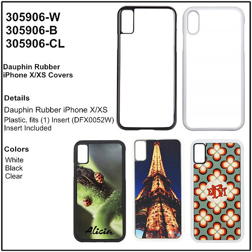 Personalize - iPhone XR Rubber Phone Case Covers