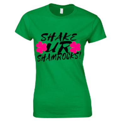 St Patty's Day T-Shirt- Irish Green