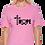 Tultex 213 - Ladies' Fine Jersey T-Shirt- Pink City TShirt- Jesus