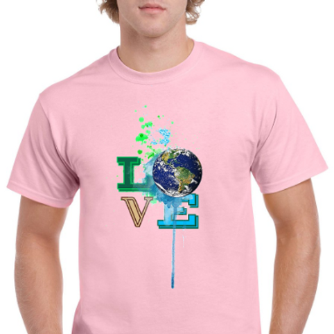 Love Earth- Earth Day Adult Shirt