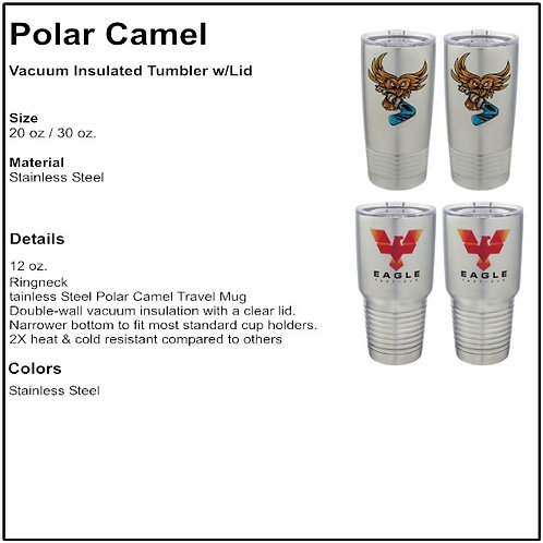 Personalize - Stainless Steel Polar Camel Tumbler