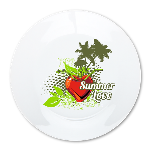 Summer Love- Decorative Dinner Plate