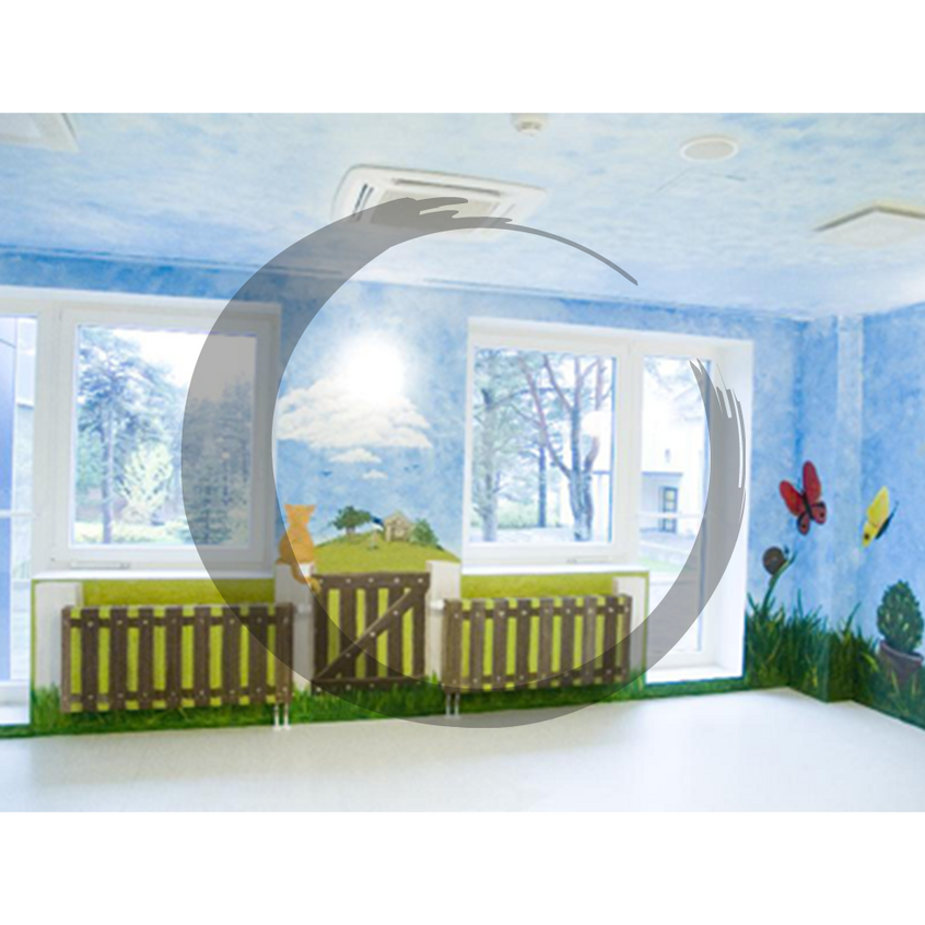 Laulasmaa Spa lastetoa seinamaaling
