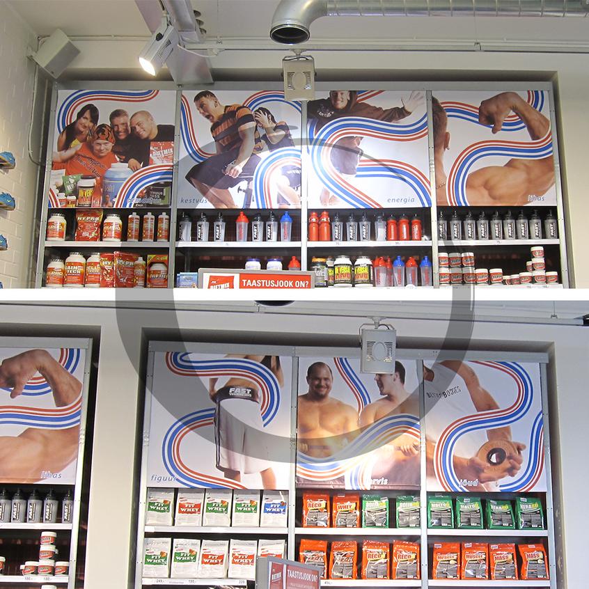Fitshop kaupluse bannerid