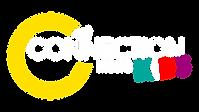 connection KIDS logo na czarnym tle 2020