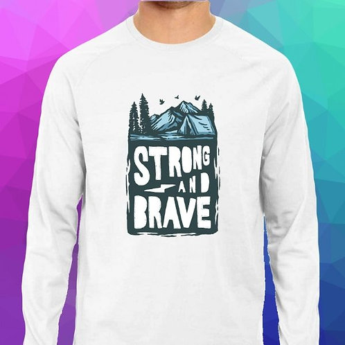 Strong & Brave Men's T-Shirt