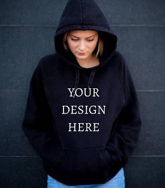 Personalised Women's Hoodies