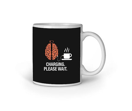 Charging Please Wait Mug