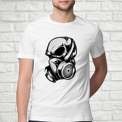 Headphone Skull Men's T-Shirt