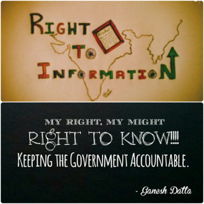 RIGHT TO INFORMATION ACT - 2005