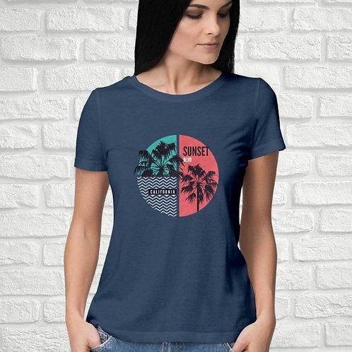Sunset Blvd Women's T-Shirt