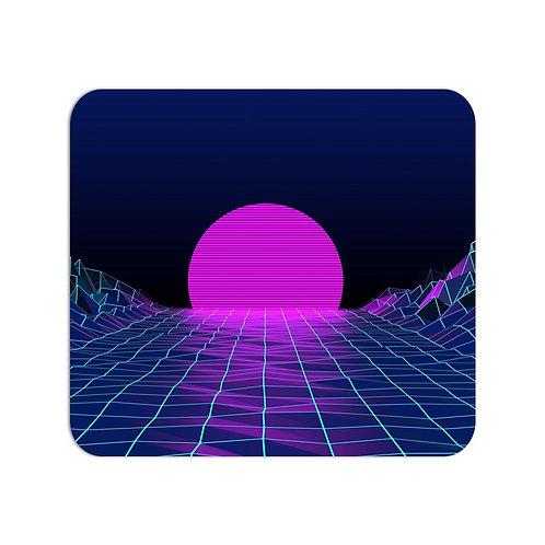 Pink Sun Mousepad