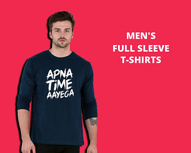 Men Full Sleeve T-Shirts Collection