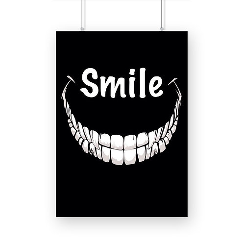Evil Smile Poster