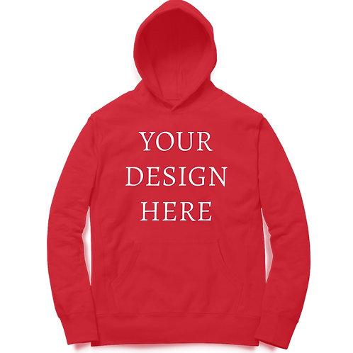 Personalised Red Hoodie