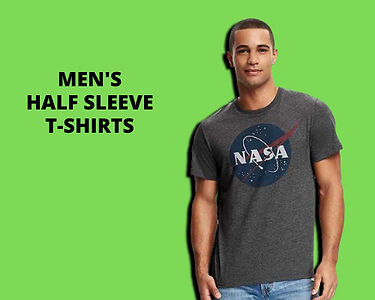 Men Half Sleeve T-Shirts Collection