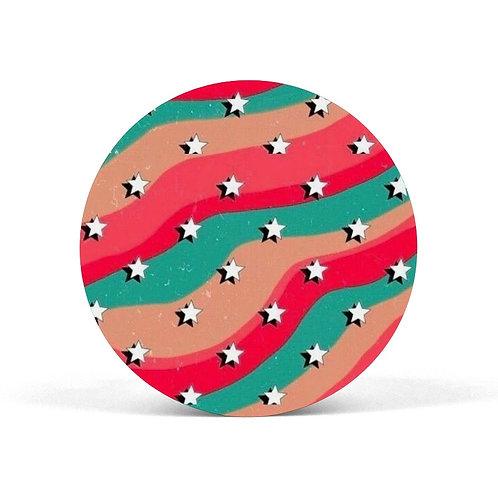 Star Pattern Pop Grip