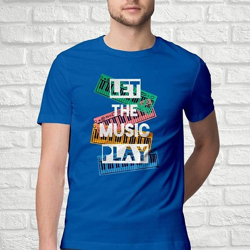 Let The Music Play Men's T-Shirt