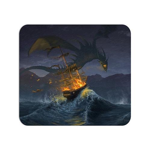 Dragon Fire Mousepad