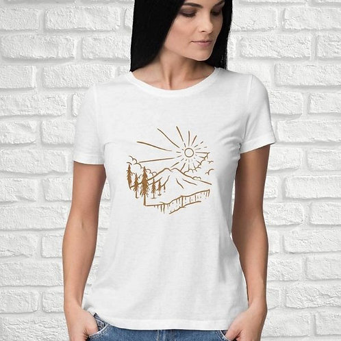 Mountain Pine Trees Women's T-Shirt