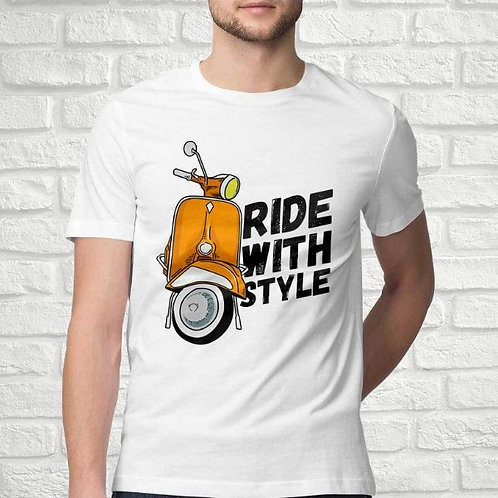 Ride With Style Men's T-Shirt