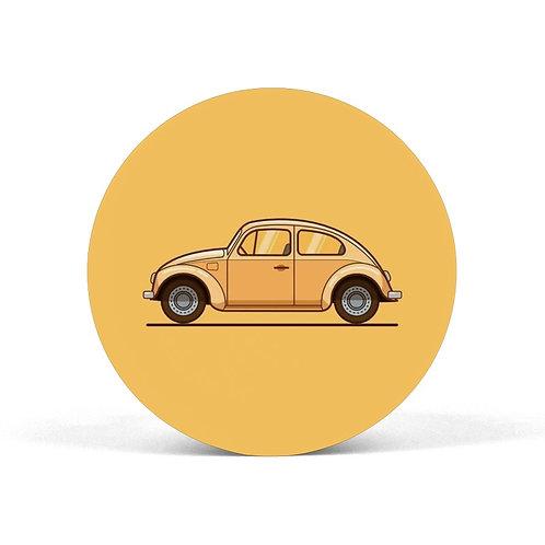 Yellow Car Pop Grip