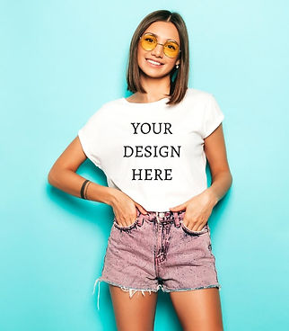Personalised Women's T-Shirts
