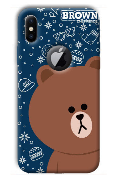 Brown Bear Phone Case