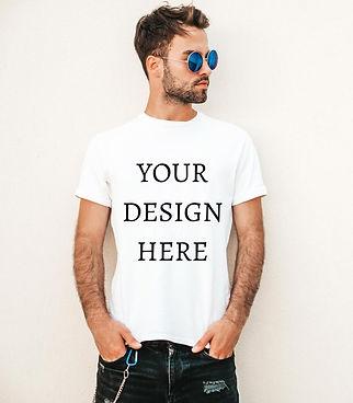 Personalised Men's Half Sleeve T-Shirt