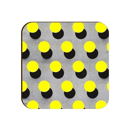Dot Pattern Coaster