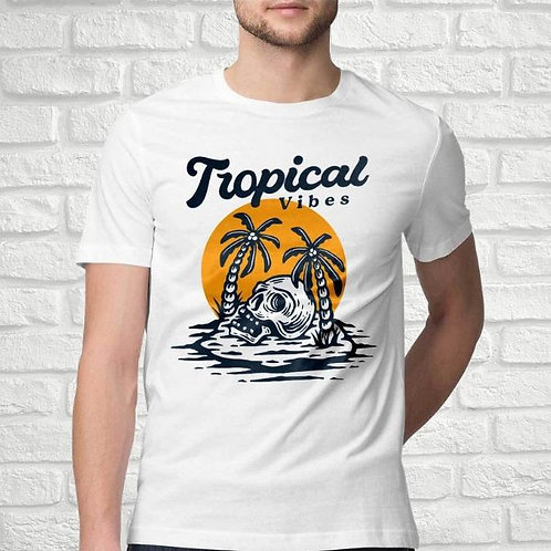 Tropical Vibes Men's T-Shirt