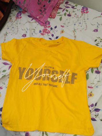 Golden Yellow T-Shirt of Himanshi.jpg